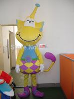 Hot sale yellow monster Mascot Costume fancy costume cosplay mascot dress carnival costume Free Ship
