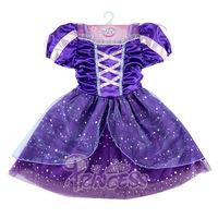 Fantasia Vestidos 2014 Children Kids Cosplay Dresses Rapunzel Costume Princess Wear Perform Clothes HOT Sale free shipping