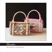 Famous brand designers womens leather handbags children girls messenger bags kids cell phone purses school shoulder bags bolsas