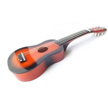 """21"""" Small 6 String Kids Acoustic Guitar Toy Music Gift w/ extra strings Orange Kid Christmas Gift(China (Mainland))"""