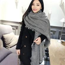 Winter 2014 Tartan Scarvs Plaid Scarf New Designed Shawls Women s Scarves Big Size Xmas Gift