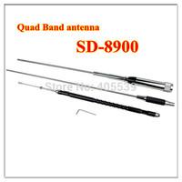 free shipping new antenna JiaSiDa SD-8900 Quad Band antenna 29/50/144/430MHz for FM transceiver mobile radio 60W
