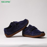 [NW7001] 2014 New Style British Casual Boy Shoes, Children's Suede Leather Shoes, 6 Sizes, 2 Colors For Choose + Free Shipping