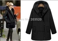 2014 European leg fat MM winter thick cotton jacket