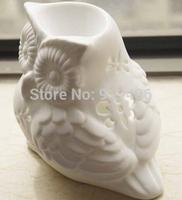 Incense burner ceramic ice crack owl incense fragrance lamp wholesale salons health club activities