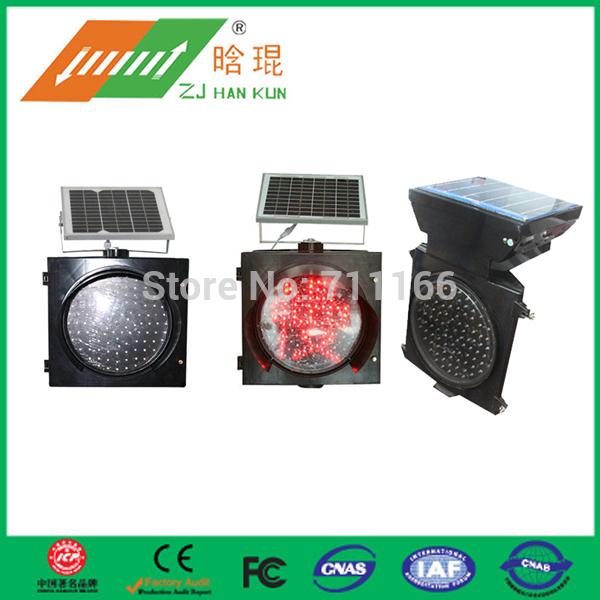 Solar traffic yellow flashing warning lights with full screen(China (Mainland))