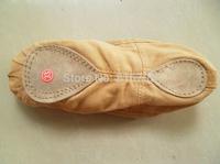 Freeshipping children Soft bottom practise ballet shoes dance slippers