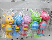 (5pieces/lot) 10-13cm henry hugglemonster toy henry monster pvc action figure