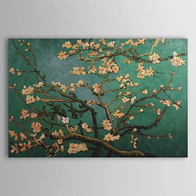 Pintura a óleo pintados à mão ramos de uma amendoeira em flor paisagem de Van Gogh(China (Mainland))
