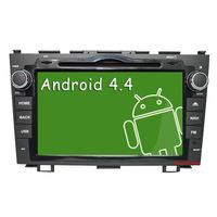 1.2GHz CPU  Android 4.4 4 CoreCar DVD GPS for Honda CRV 2006-2011+Capacitive screen+Radio,Support OBD,DVR 3G WiFi,Free shipping