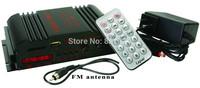 LP-269FS 4 x 45 Watts Mini Amplifier with Remote USB/MP3/SD and FM