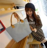 2014 Hot Weave Knit Pattern Women Handbag Crocodile Pattern Women Handbag Women Shoulder Bag,Leisure Feather Tote Bag F002