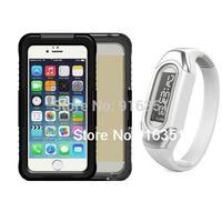 Waterproof Dustproof Shockproof Bumper Case For Apple iPhone 6 Plus 5.5&quot Case 5.5 Inch Retail Packaging + 1PCS Waterproof Wa