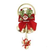 Xmas Tree Ornaments Santa Claus Bells Hanging Decor Christmas Decorations 65092