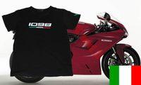 2014 New Freeshipping T-shirt 1098 superbike Tricdlore Motorcycle Tshirt