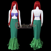 Free Shipping Customized The Little Mermaid Cosplay Costume Little Mermaid Costume