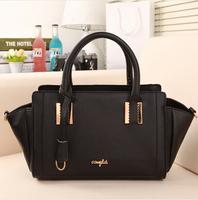 New arrive women handbag fashion vintage leather shoulder bag female trapeze bag women messenger bag
