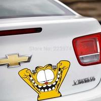 Wacky expressions Garfield cartoons made faces Fill cover scratches Car sticker  Automotive exteriors