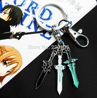 20 PCS/lot sword art online Key Chains 100% NEW