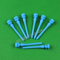 10PCS Lot Black/Blue Silicon Silicone Screw Fixer For PC Computer Fan Shock Absorption Reducte Noise