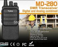 2014 Newest TYT  DMR digital walkie talkie UHF400-480MHz  MD-280 Analog combined radio Tytera two way radio MD280