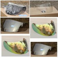 Free shipping k3 k4 full face motorcycle helmet visor motocross helmet lens shield 4 colors transparent colorful silver black