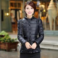 Free shipping 2014 new Winter jacket Woman's  Down Woman Warm Coat parka