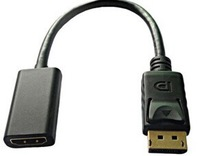 Displayport to HDMI Cable Adapter 15CM w/IC (DP Male to HDMI Female)