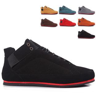 Brand sneakers sport men casual shoes fashion men nubuck leather shoe