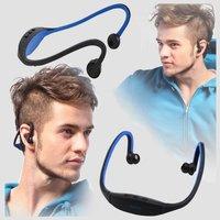 Stereo Wireless Bluetooth Sports Headset HandFree  Headphone For iPhone