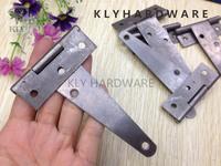 4inch Steel hinge,Natural color hinge,door hinge,Light T hinge,gate hinge20pcs