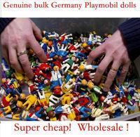 30pcs/lot Genuine super cheap bulk wholesale foreign trade 7cm German Playmobil dolls Free Shipping