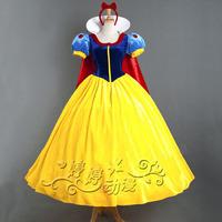 Custom Made Beautiful Girl Lady Women Snow White Dress Princess Party Performance Cosplay Costume