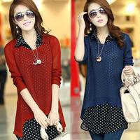 Plus size clothing plus size autumn outerwear set trend twinset dm