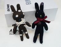 FreeShipping 12pcs/lot Cute Little rabbit hair clip MashiMaro toy small hair pin F81106 (blue, brown)