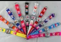 Free Shipping DHL150 pcs/lot PEPPA PIG Children Girls Kids Quartz Cartoon Watches,BEST GIFT