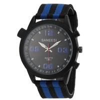 2015 New High Quality Fashion Brand Nylon Strap Men Quartz Watch Dress Watch For Men Analog Sport Wristwatch Water Resistant -5