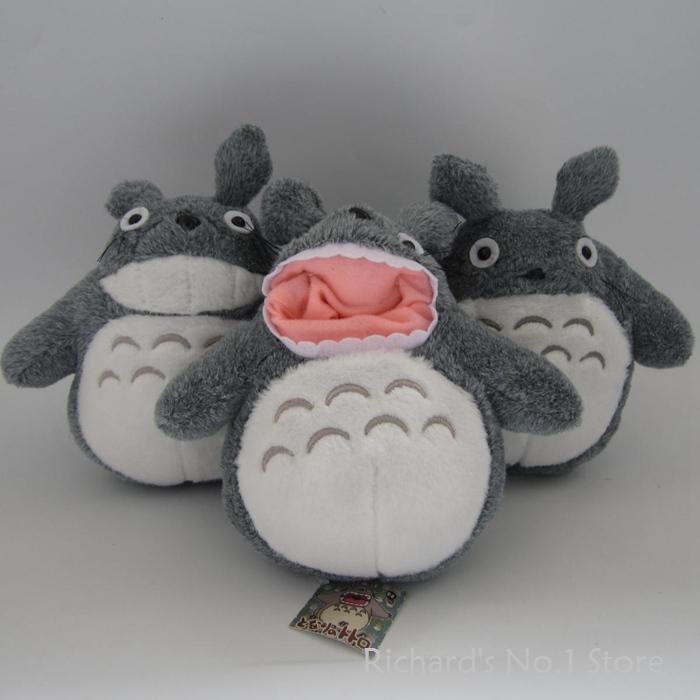 Holiday Sale 21cm 30pcs/lot My Neighbor Totoro Cute Cartoon Creative Totoro Plush Animal Doll Stuffed Toy Lovely Birthday Gift(China (Mainland))