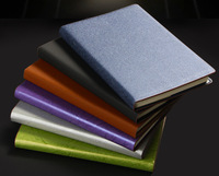 Office supplies korean stationery leather notebook fashion diary notebook free shipping