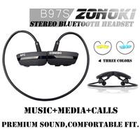Original ZONOKI B97S NFC Bluetooth V4.0 headset Wireless headphone headphones earphone for xiaomi iphone 5S 6 Samsung LG