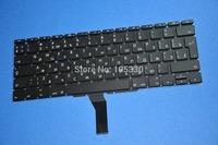 "3pcs/lot New Original For Macbook Air 11"" A1370 A1465 2011 2012 2013 RU russian Keyboard Free shipping"