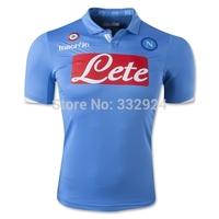 TOP Original 2015 Thai Napoli HIGUAIN HAMSIK HIGUAIN CALLEJON INSIGNE home soccer Jersey 14 15 Naples Away football Shirts