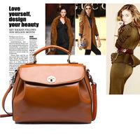 Fashion lady bag 2014 new Taobao selling Europe and America retro locking shoulder female Handbag Bag 3009