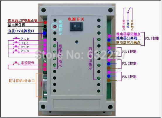 24V microcontroller module Mitsubishi PLC Control Board made programmable relay control board computer USB device(China (Mainland))