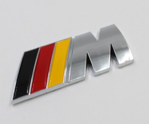 M 3d Logo 20PCS 3D M Logo ABS Ca...