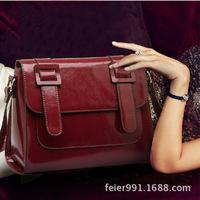 The bag 2014 new Jurchen bag of candy colored Messenger Bag Fashion Shoulder bag lady cross