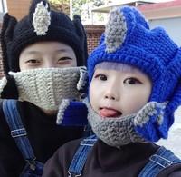 Korea genuine purchasing Transformers Optimus Prime Megatron wool cap knitted hat cups warm men and women