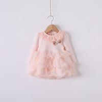 2014 Girls princess dress , girls lace dress , girls tutu dress , girls dresses , 5pcs/lot  HGM02