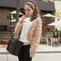 New Lady Loose Warm Sweater Coat Wool Knit Cardigan Batwing Outwear Free Shipping