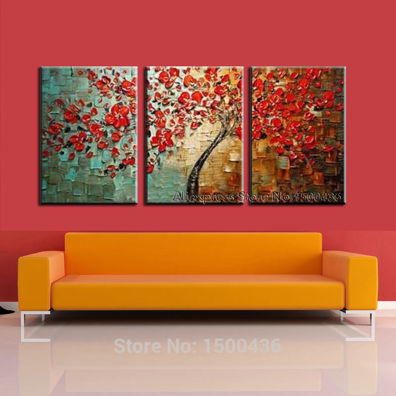 Pictures Decor Modern 3 Piece Wall Art Set For Home China Mainland